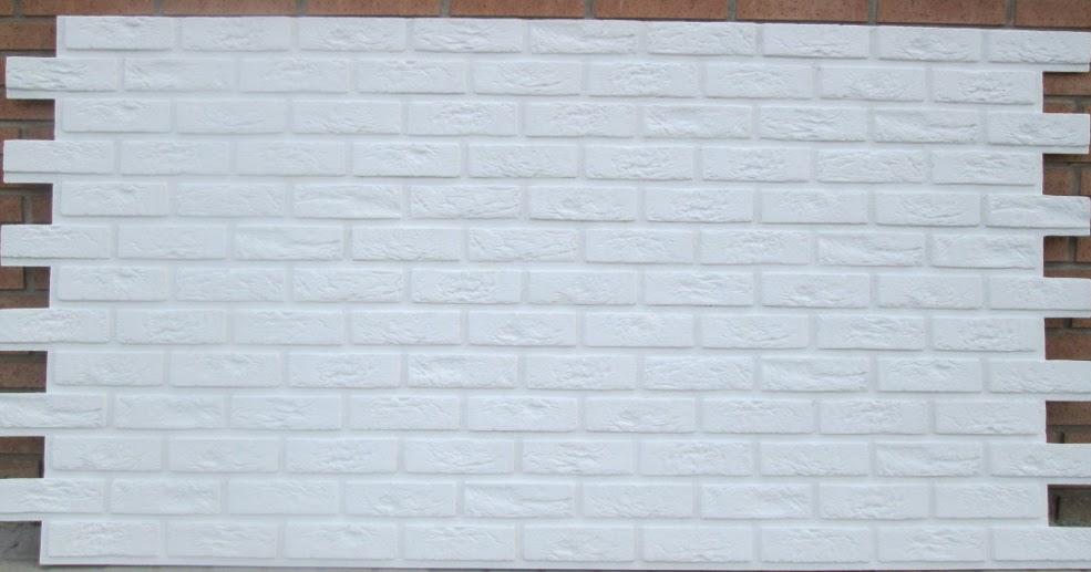 Comercios valencia oferta paneles decorativos paneldeco ladrillo bristol xl blanco total - Paneles decorativos poliuretano ...