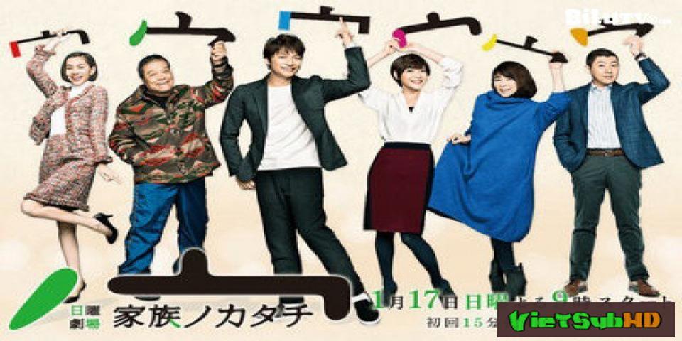 Phim Hình Mẫu Gia Đình Hoàn Tất (10/10) VietSub HD | Kazoku no Katachi 2016
