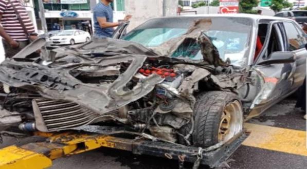 Lidah Azlan Shah kena jahit akibat kemalangan