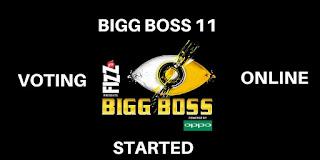 Bigg Boss 11 Voting Online