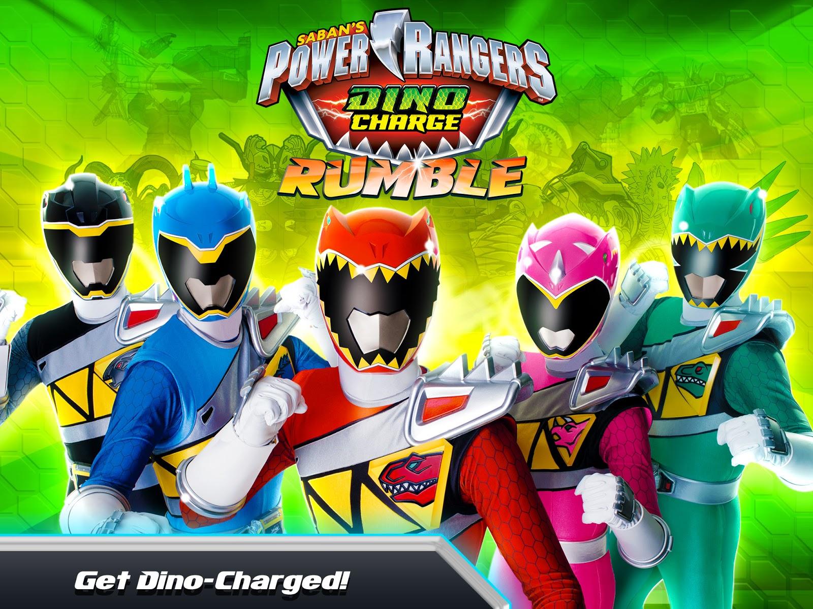 Henshin Grid Power Rangers Dino Charge Rumble App Game