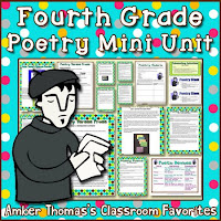 https://www.teacherspayteachers.com/Product/Poetry-Mini-Unit-Fourth-Grade-Test-Prep-229925