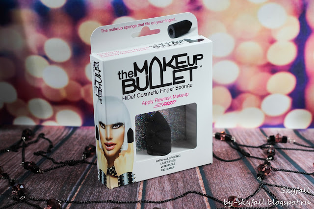 The Makeup Bullet HiDef Cosmetic Finger Sponge