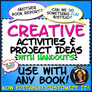 https://www.teacherspayteachers.com/Product/Creative-Activities-for-ANY-Novel-or-Short-Story-with-Handouts-77190