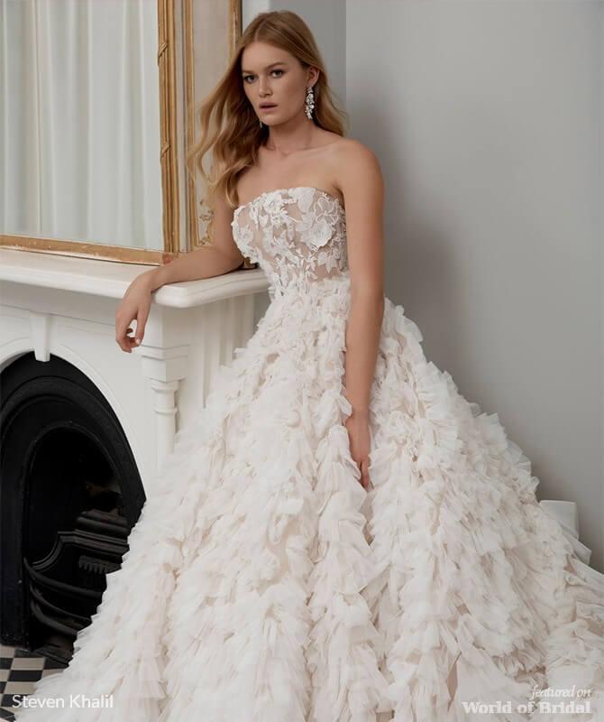 Steven Khalil 2018 Wedding Dresses - World of Bridal