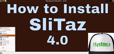 SliTaz 4.0 Linux
