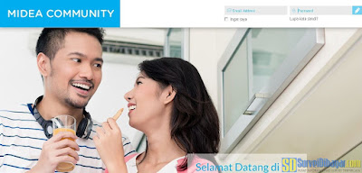 Website Midea Community | SurveiDibayar.com