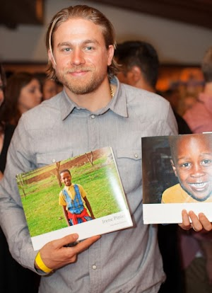 Charlie Hunnam helps African children