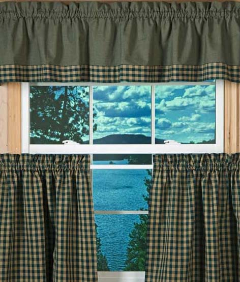 Interior Design Tips: Perfect Country Curtains For the ...