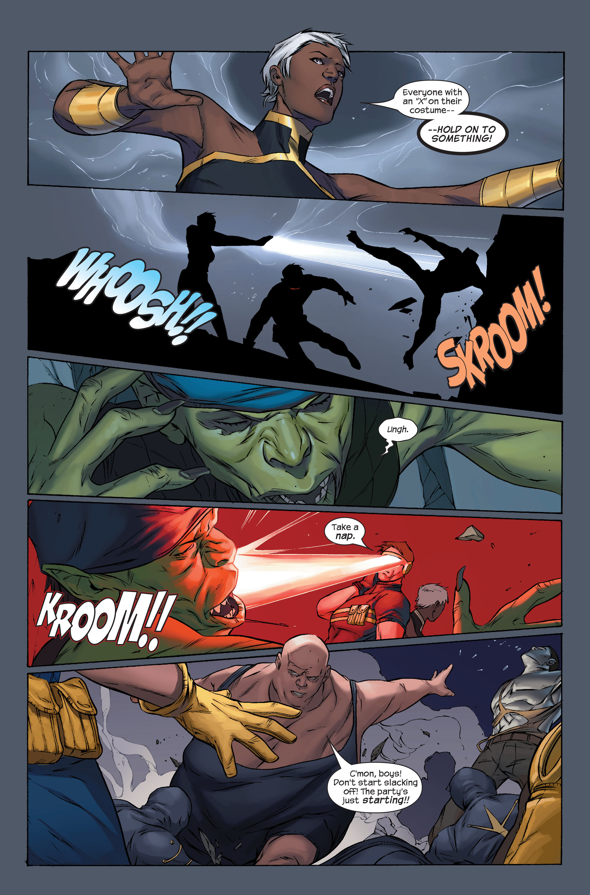 Read online Ultimate X-Men comic -  Issue #71 - 6
