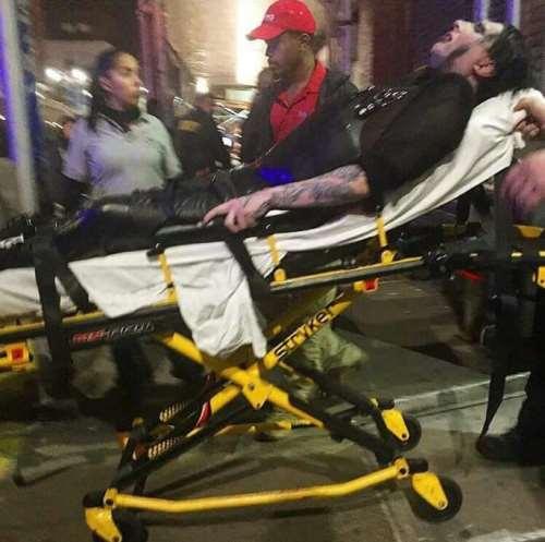 Marilyn Manson - μεταφορά σε νοσοκομείο
