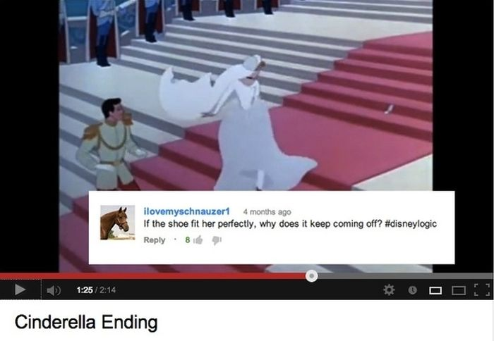 The 16 Funny YouTube Comments on Disney Movie Clips | Weird