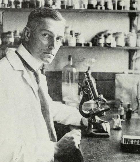 Sir Bernard Spilsbury ca 1920