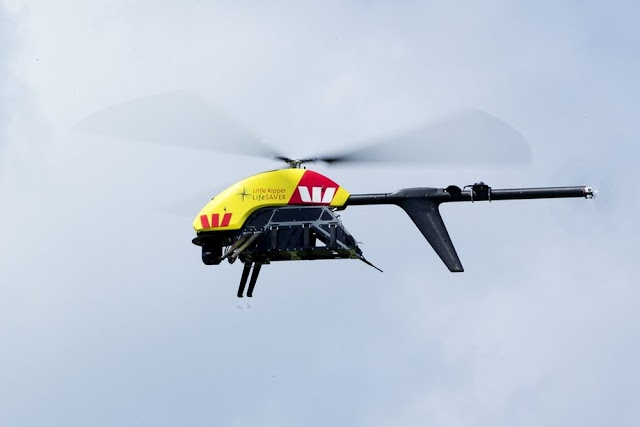 Drones for human Rescue in Australia
