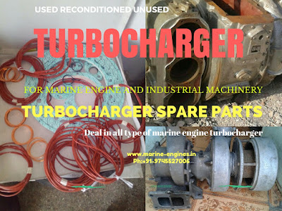 Turbocharger, Turbo, Used, reconditioned, Turbocharger spare parts, Turbocharger repair Kit, BBC, IHI, ABB, MET,