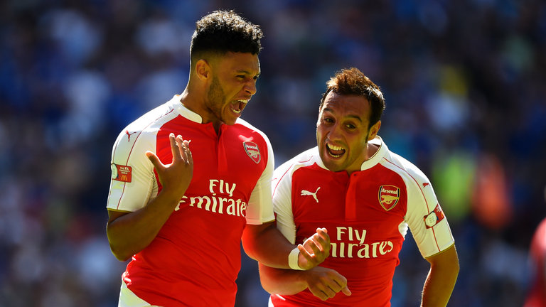 Arsenal duo Santi Cazorla and Alex Oxlade-Chamberlain set to return