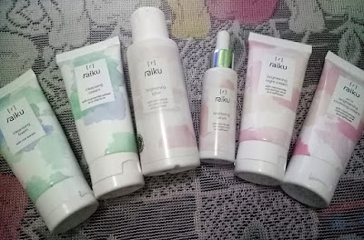 Raiku Beauty Brightening Series