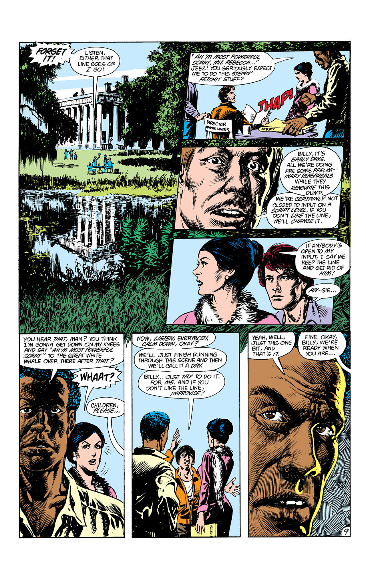 Swamp Thing (1982) Issue #41 #49 - English 9