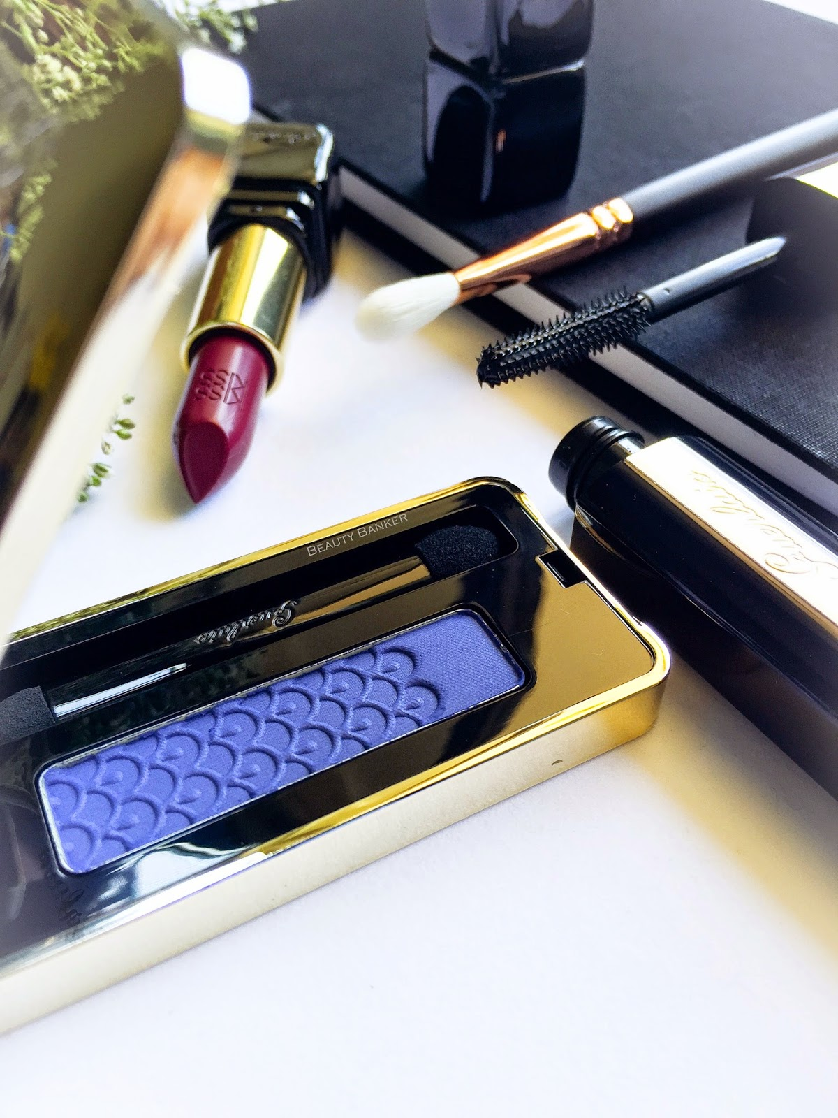 Guerlain Ecrin 1 Couleur Mono Eyeshadow in Blue's Brothers