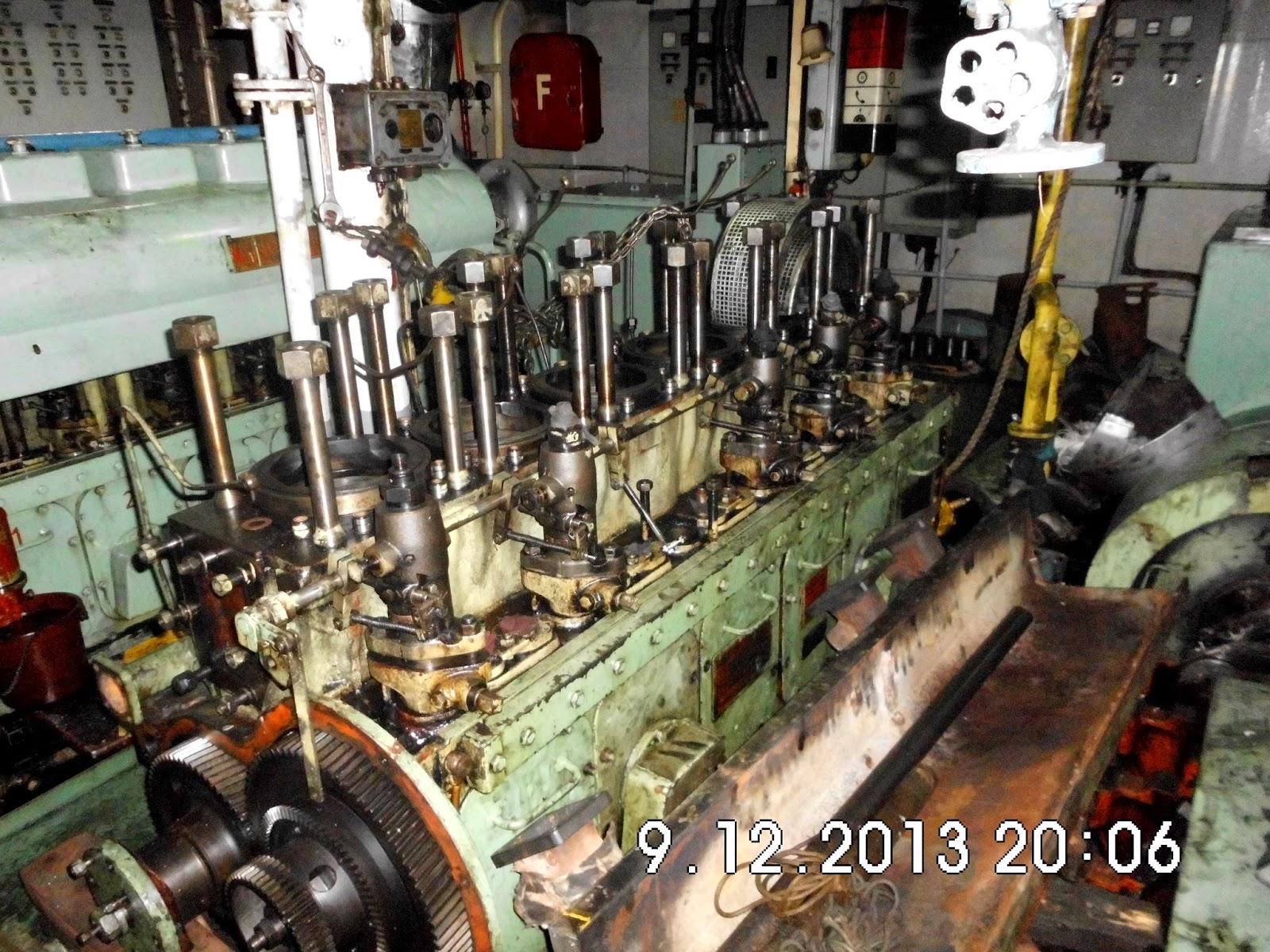 Cara pengetesan remote control unit pada main engine
