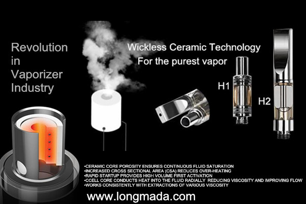 7 years wholesale herbal wax CBD vaporizer -www longmada com: 2017