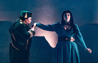 Guildhall School - Radamisto - Elizabeth Skinner, Jade Moffatt - (c) Clive Barda