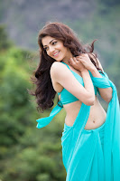 Kajal Aggarwal Dazzling Saree New Photo Stills