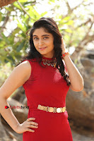Telugu Actress Zahida Sam Latest Pos in Red Gown at RF Films New Movie Opening  0169.JPG
