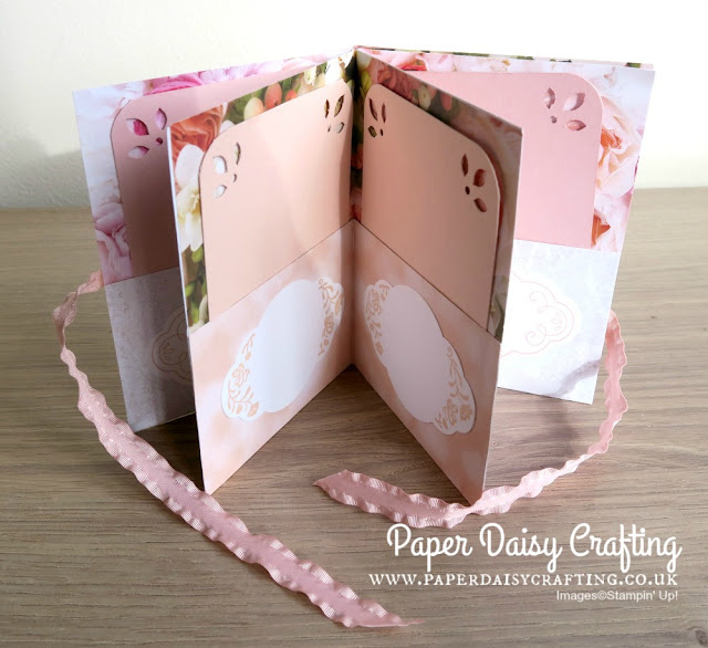 Petal Promenade Mini Album by Stampin' Up!