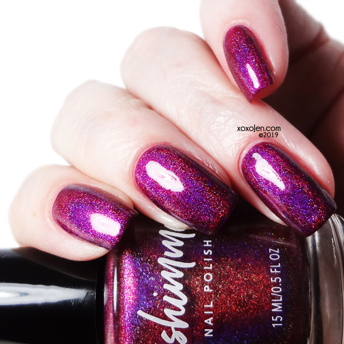 xoxoJen's swatch of kbshimmer Under Cover