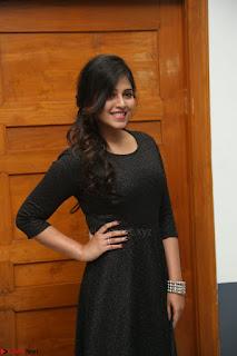 Anjali in Black Short Dress at Chitrangada Movie Success Meet ~  024.JPG