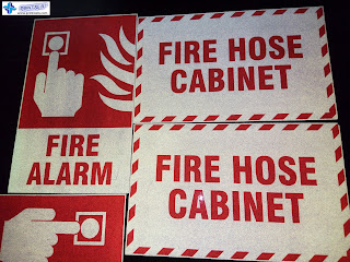 Fire Hose Cabinet - Reflective Signs