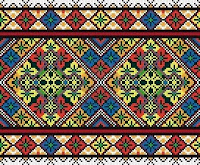 geometric cross stitch