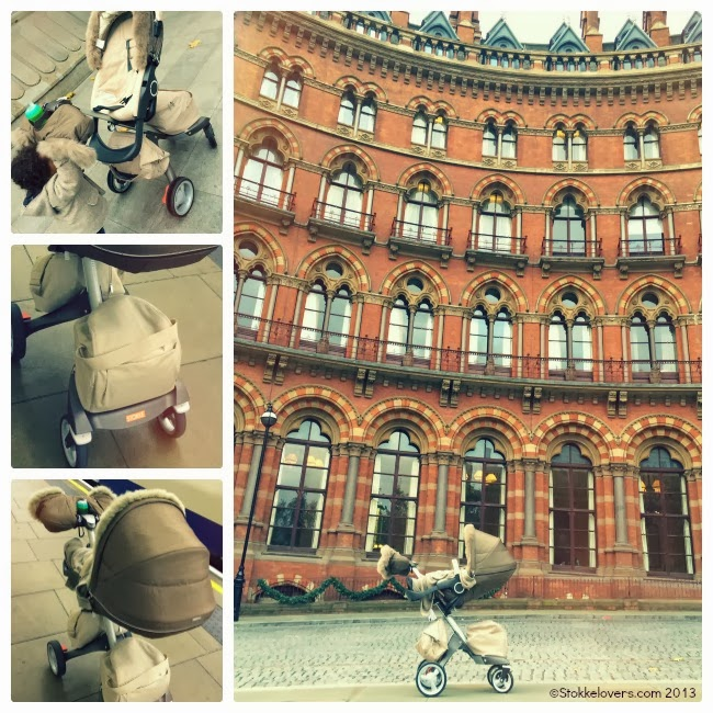 St Pancras Station London Stokke Xplory