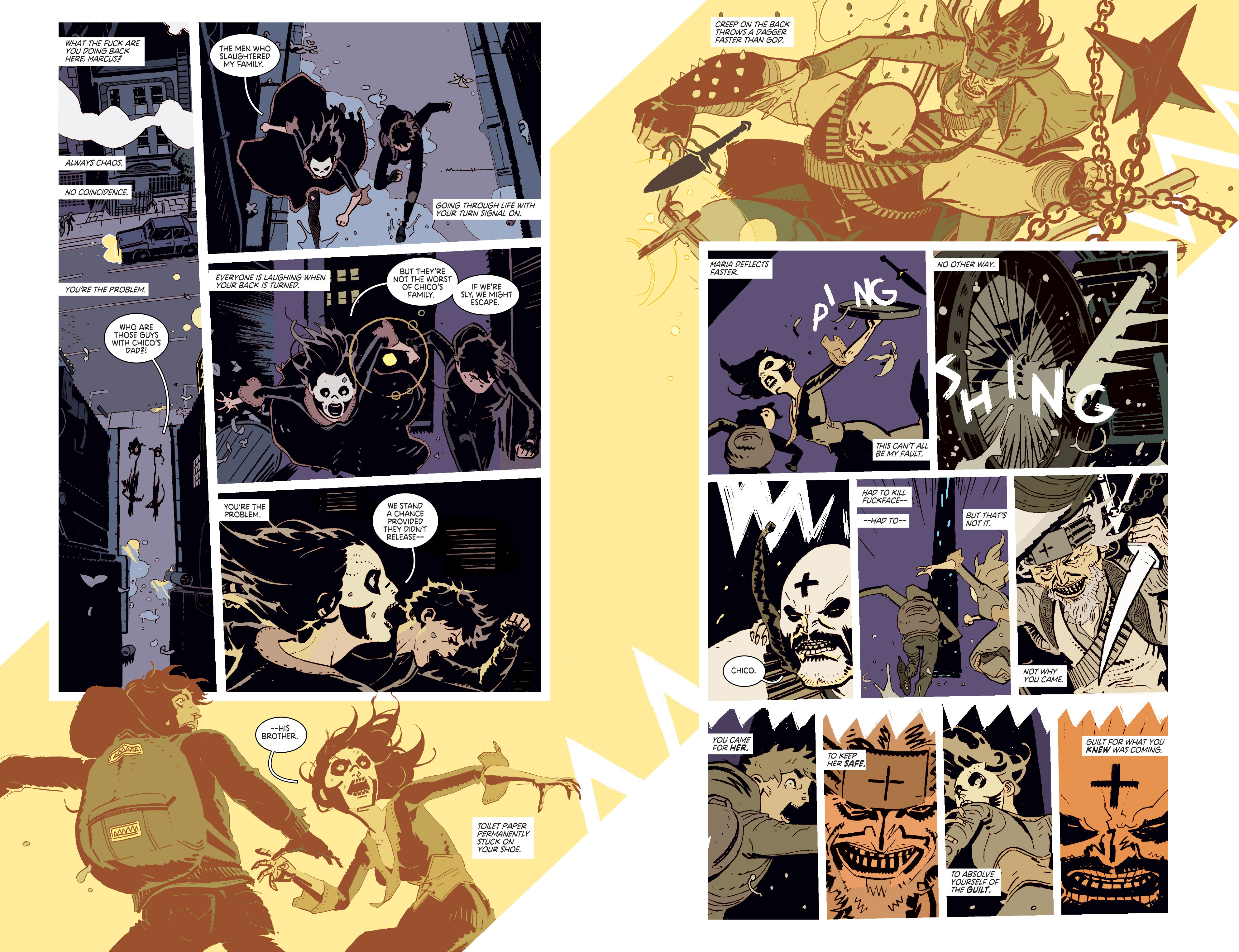 Read online Deadly Class comic -  Issue # _TPB 3 - 13