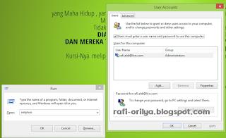 Cara Mudah Menghilangkan Password Windows 8 atau 8.1