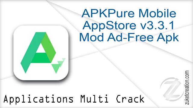 APKPure Mobile AppStore v3.3.1 Mod Ad-Free Apk