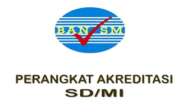 Dowmload Perangkat Akreditasi SD/ MI