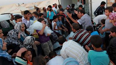 Aneh, Pengungsi Muslim Memilih pindah Agama Agar Selamat