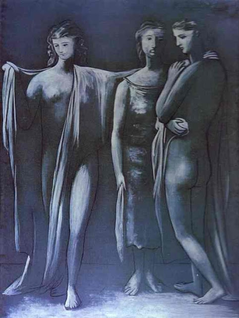 The Three Graces, Pablo Picasso, 1925