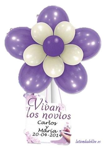 globos para decorar el día de tu boda
