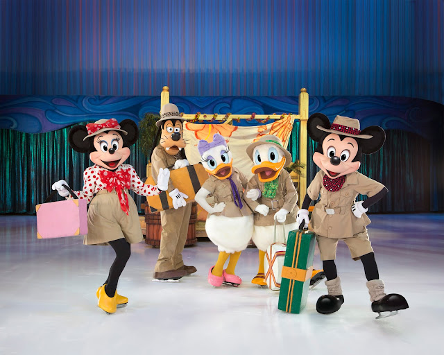 Disney on Ice presents Passport to Adventure at Manchester Arena - Review mickey Minnie Donald Daisy Goofy