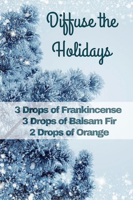 Diffuse the holidays with this simple diy recipe