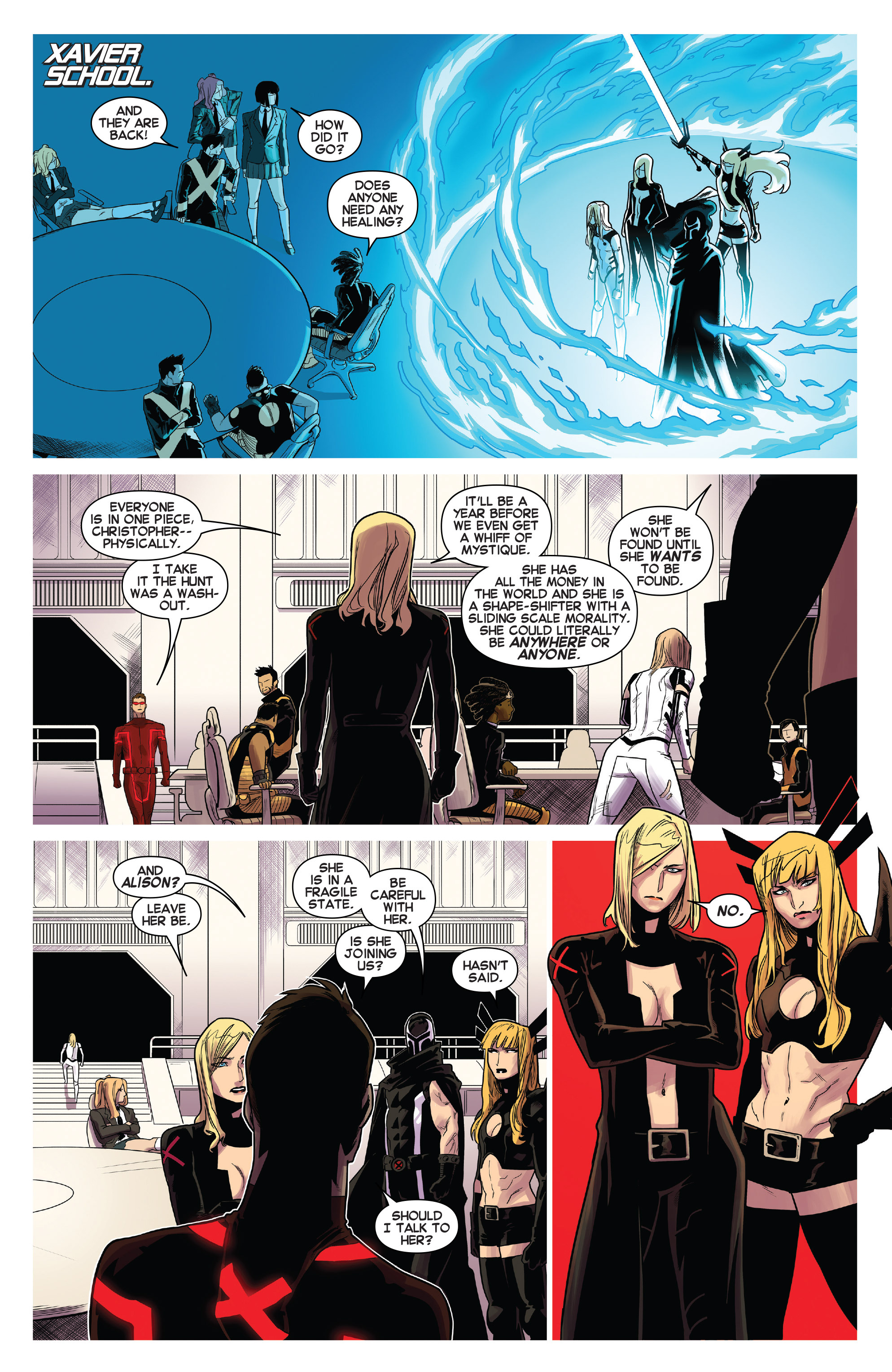 Read online Uncanny X-Men (2013) comic -  Issue # _TPB 4 - vs. S.H.I.E.L.D - 92