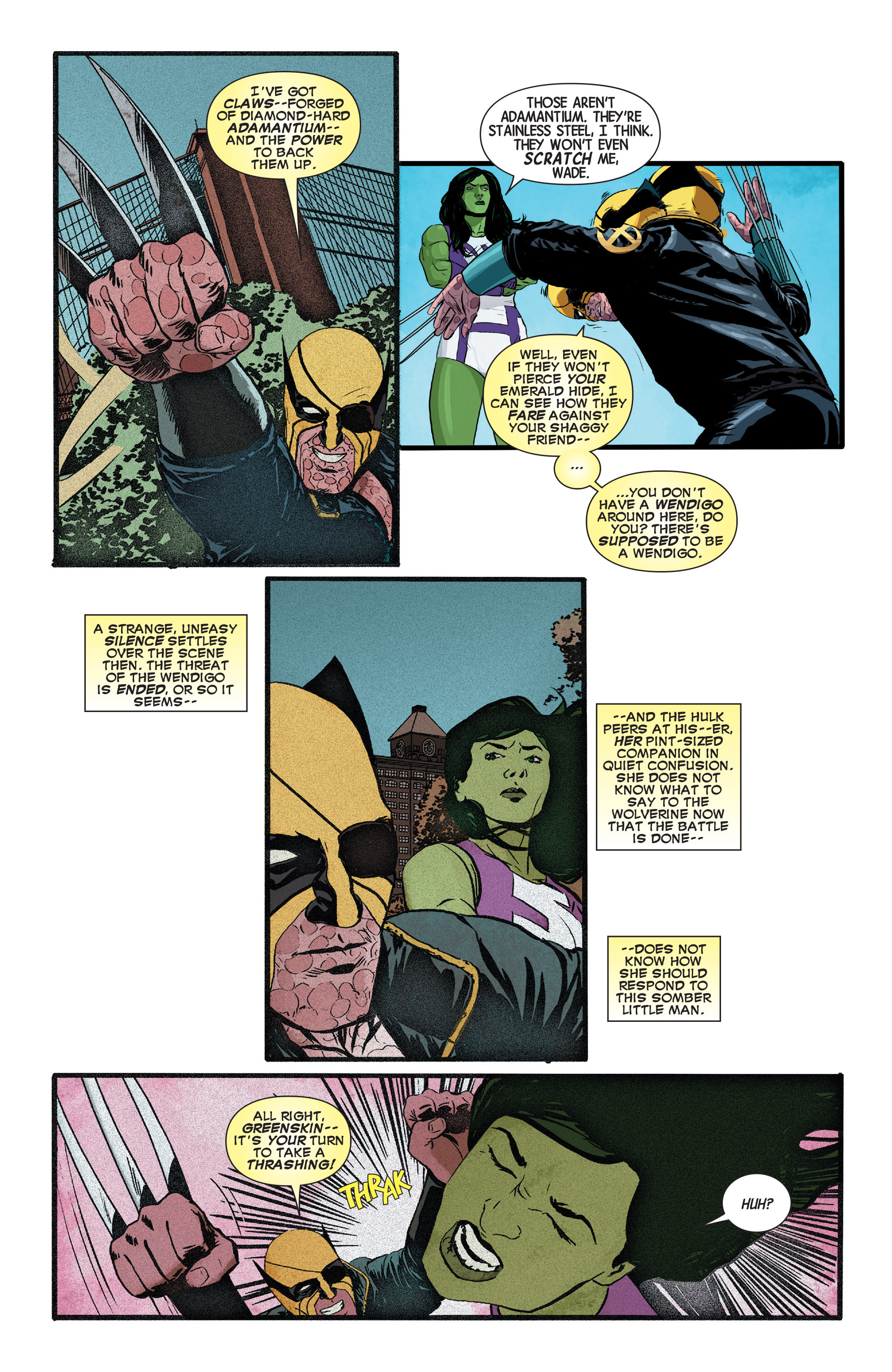 Read online Wolverines comic -  Issue #13 - 12