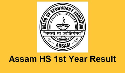 Assam HS 1st year result 2020