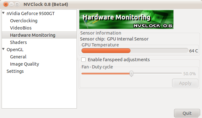 Install Nvclock On Ubuntu 11 04 To Easily Overclock NVIDIA