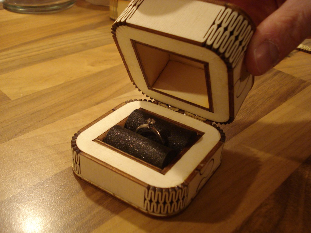 Project 26 Engagement Ring Box