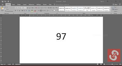 Cara Membuat Bilangan Pangkat Pada Microsoft Word