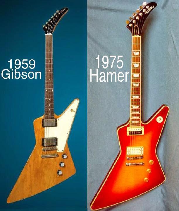 The Unique Guitar Blog: Hamer Guitars